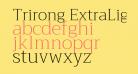Trirong ExtraLight
