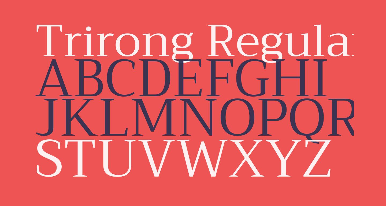 Trirong Regular
