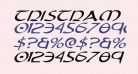 Tristram Expanded Italic