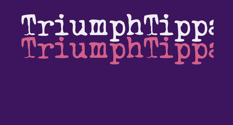 TriumphTippa regular