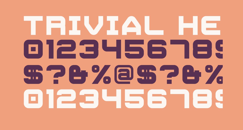 Trivial Heavy