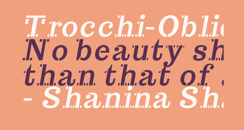 Trocchi-Oblique
