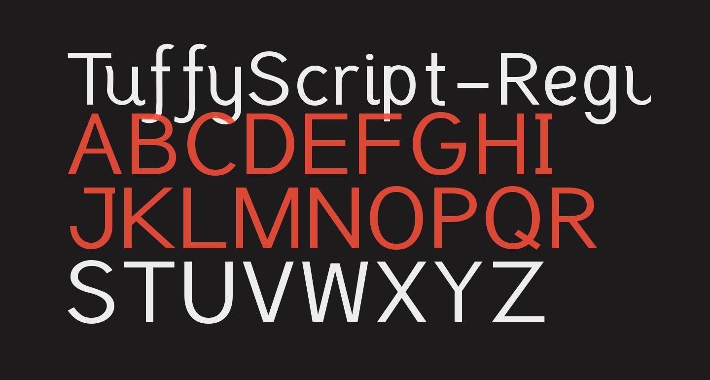TuffyScript-Regular