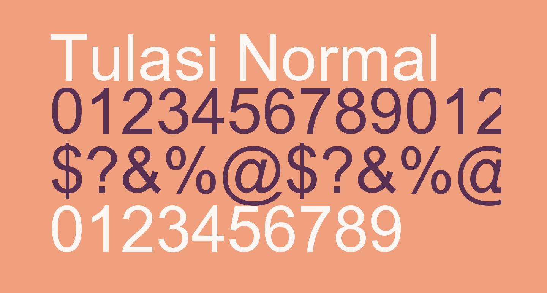 Tulasi Normal