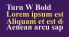 Turn W Bold