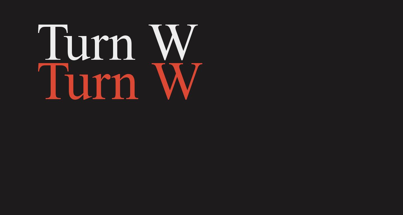 Turn W