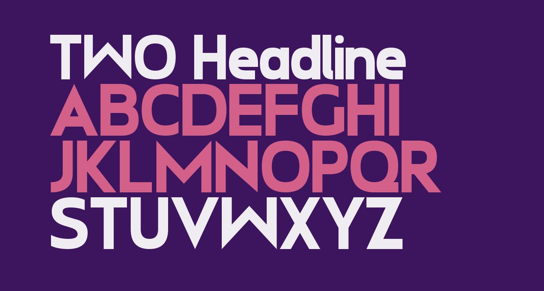 TWO Headline