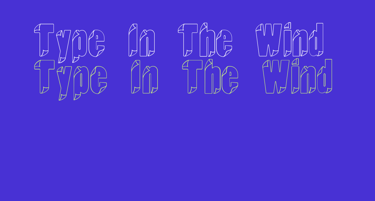 Type In The Wind