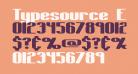 Typesource Extol S BRK
