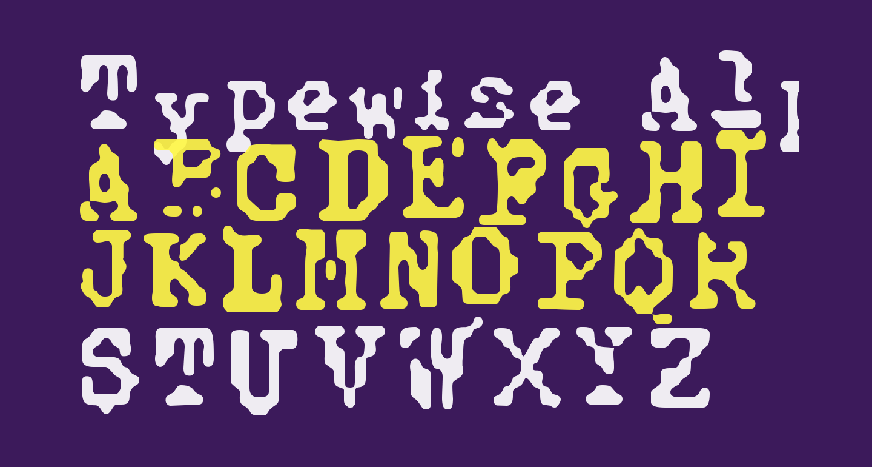 Typewise Alpha