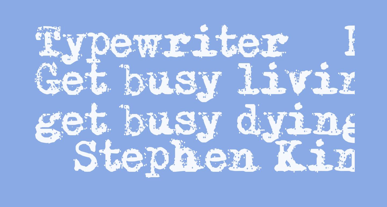 Typewriter - Remington RIVIERA