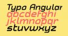 Typo Angular Rounded Demo Bold Italic