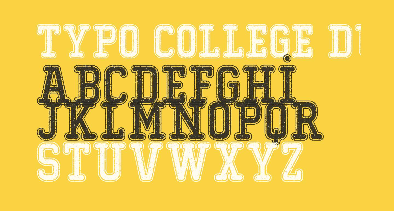 Typo College Dusty Demo