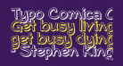 Typo Comica Outline