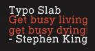 Typo Slab