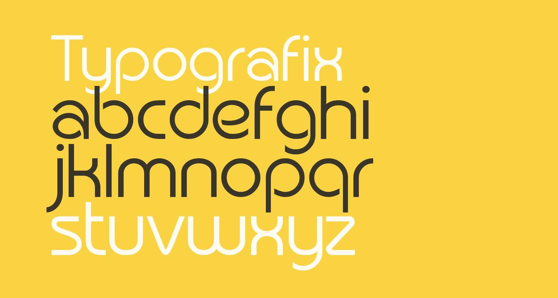Typografix