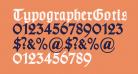 TypographerGotisch B Bold