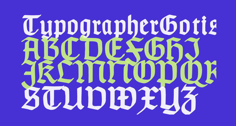 TypographerGotischA-Bold