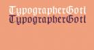 TypographerGotischB