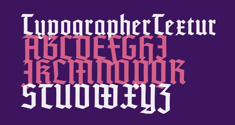 TypographerTextur