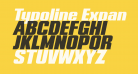 Typoline Expanded Italic