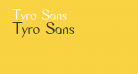 Tyro Sans