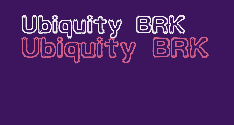Ubiquity BRK