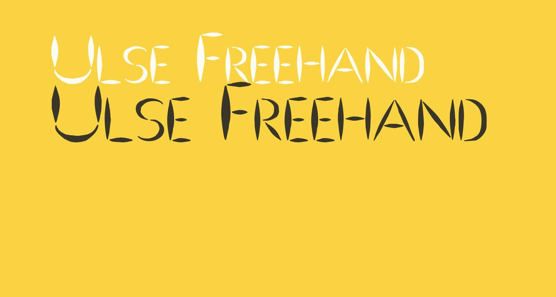 Ulse Freehand