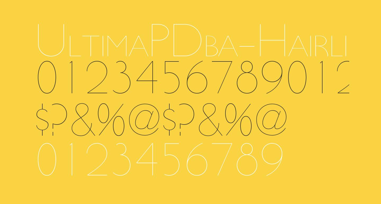 UltimaPDba-HairlineSmallCaps