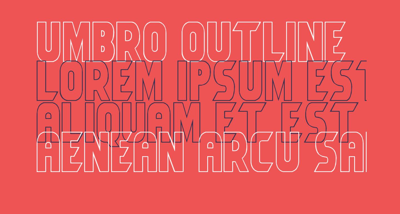 Umbro Outline