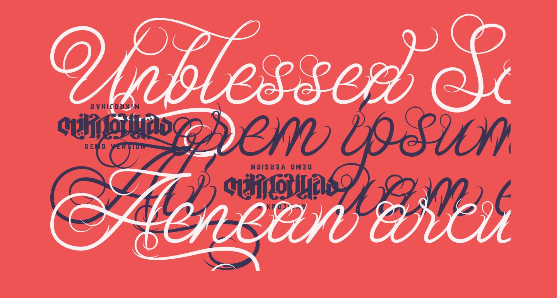Unblessed Script