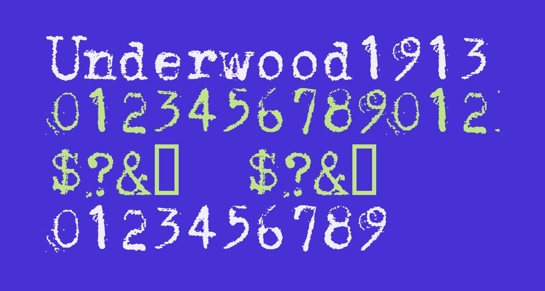 Underwood1913 Normal