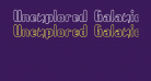 Unexplored Galaxies O -BRK-