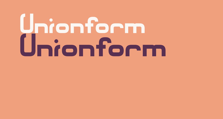 Unionform