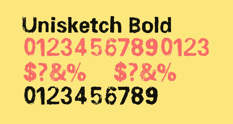 Unisketch Bold