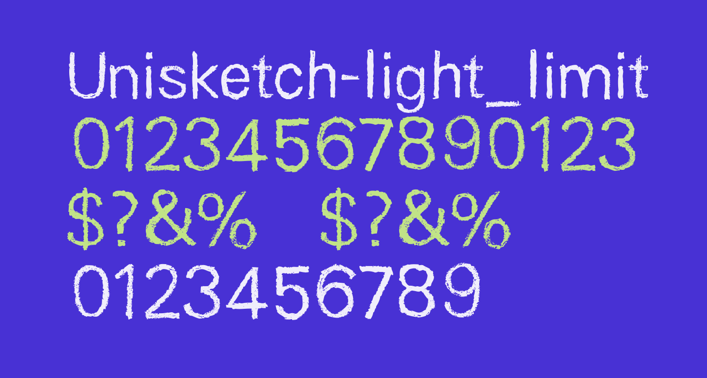 Unisketch-light_limited Light