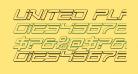 United Planets 3D Italic