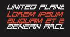 United Planets Condensed Italic