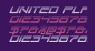 United Planets Gradient Italic