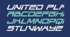United Planets Italic
