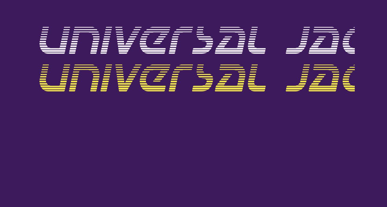 Universal Jack Gradient Italic