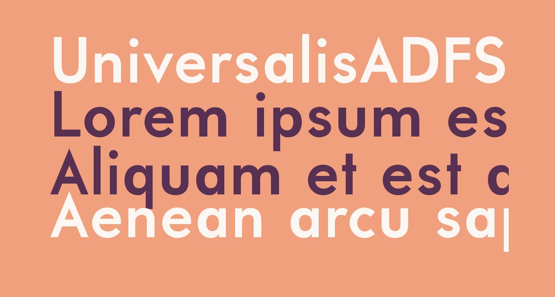 UniversalisADFStd-Bold