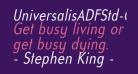 UniversalisADFStd-CondItalic