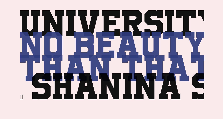 UniversityRegular