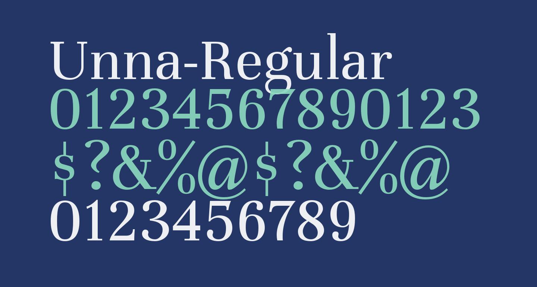 Unna-Regular