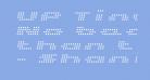 UP Tiny lcd four 8 Light Italic
