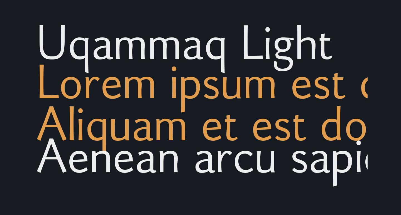 Uqammaq Light