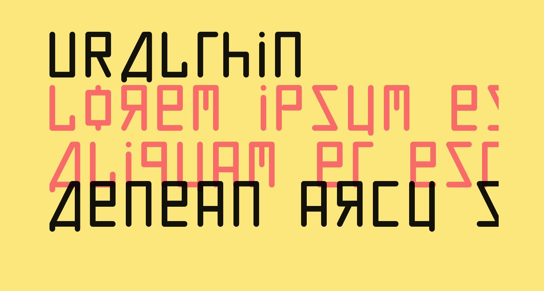 URALthin