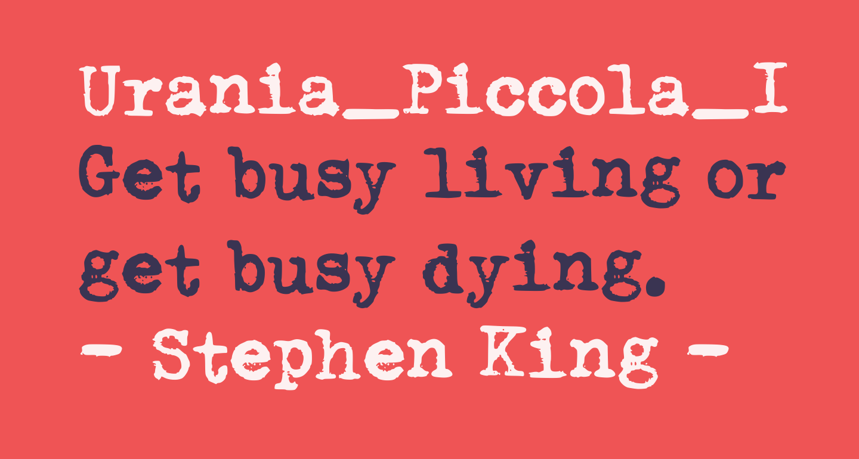 Urania_Piccola_II