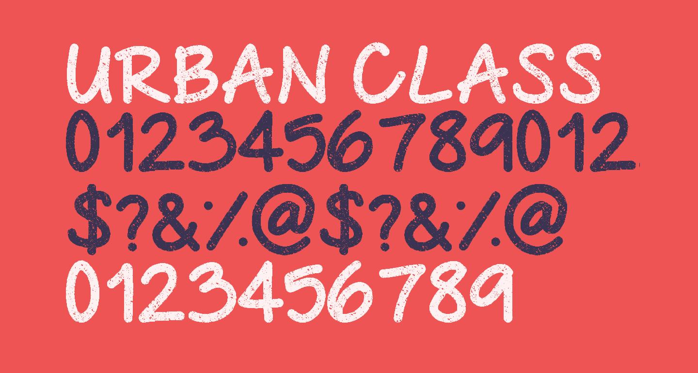 Urban Class